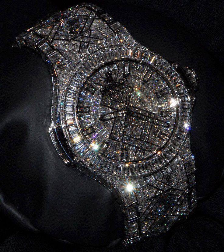 Diamond Encrusted Rolex Watch