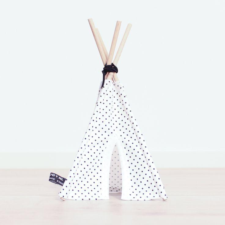 http://www.nuki-nuby.nl/winkel/babykamer/mini-teepee-mini-dots-23cm/