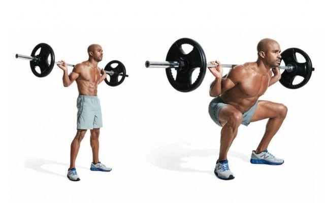 Guida completa agli esercizi per le gambe eseguiti con pesi liberi Una guida completa all'allenamento delle gambe che utilizza soltanto pesi liberi e non macchine. Tut palestra allenamento gambe pesi