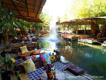 Natural Paradise Restaurant, near Saklikent Gorge, Turkey