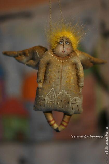 angel yellow dreams. Handmade.
