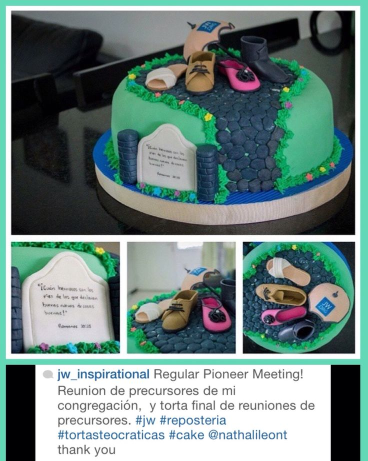 139 best Creative JW cakes Fruits images on Pinterest Pioneer