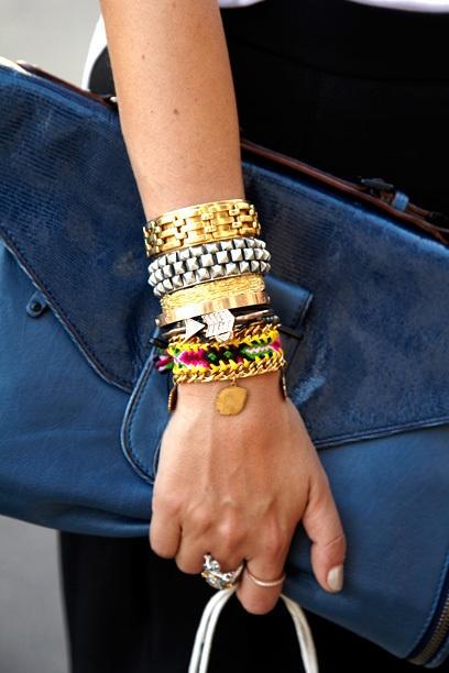 bracelets, bracelets.