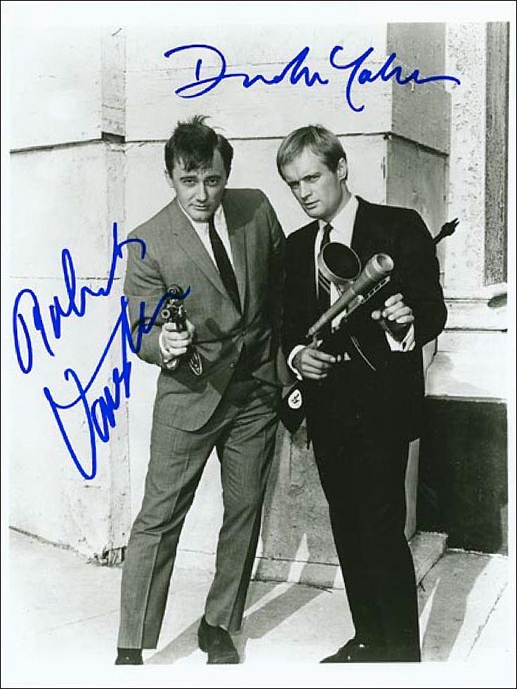 Robert Vaughn as 'Napoleon Solo' & David McCallum as 'Illya Kuryakin' in The Man from U.N.C.L.E. (1964-1968, NBC)