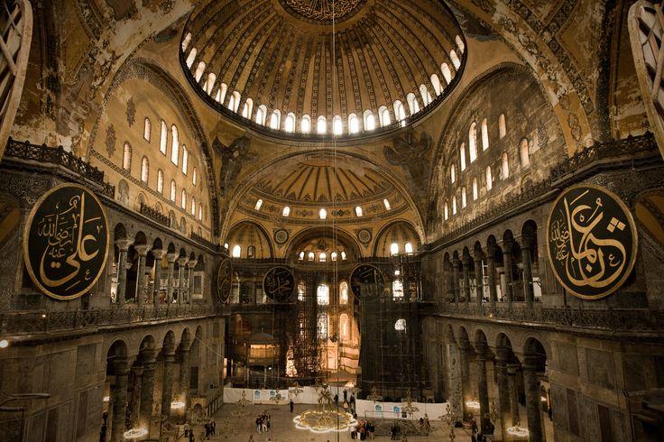 The Hagia Sophia Istanbul,Turkey
