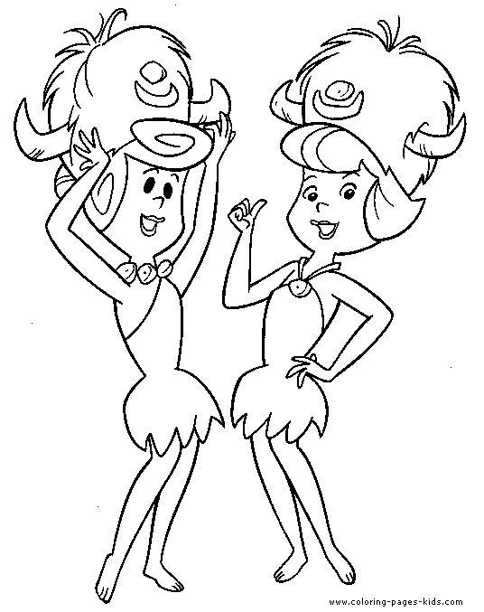 19 best Flintstones Coloring Pages images on Pinterest Coloring
