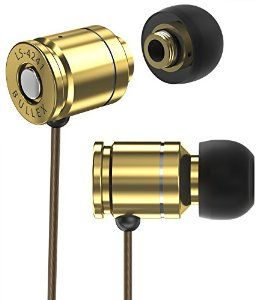 Amazon.com: Sentey BULLEX GOLD Earbuds Earphones In Ear Headphones Headset In-Line Microphone Stereo Bass for travel running Men Kids Girls Audiophile Sport Gaming Pc Mac Phones EVA Carrying Case Included LS-4241: Home Audio & Theater