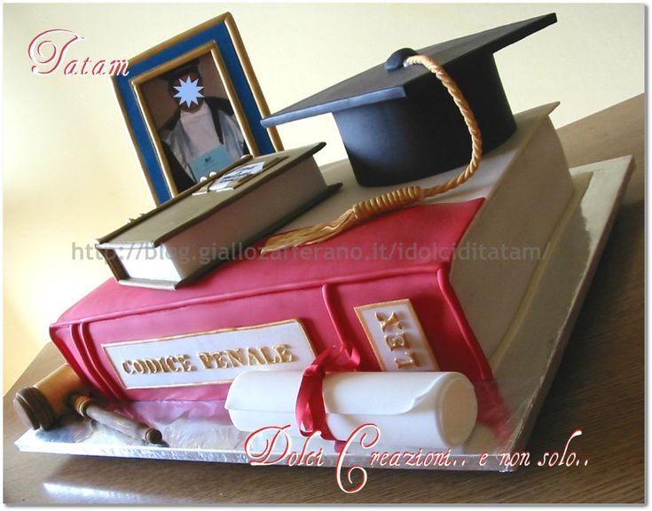 torta decorata laurea 1