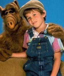 """Benji Gregory """"Alf"""" 1986"""