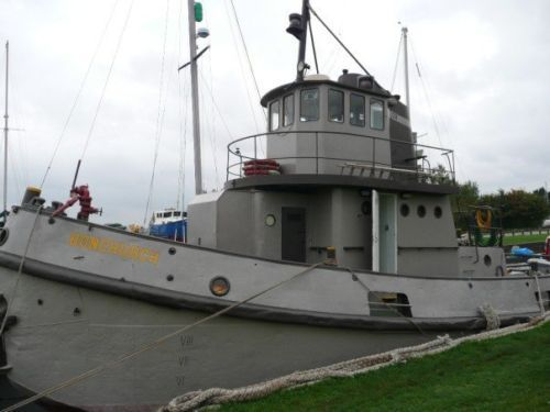 FOR SALE: A D-Day tug boat in 2020 | Tug boats, Tug boats ...
