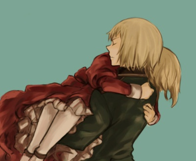 Switzerland and Liechtenstein are one of my favorite things about hetalia. .. I just love them so much