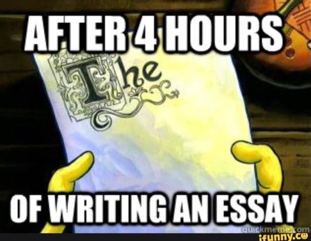 "On writing papers: | Just A Bunch Of Really Good ""SpongeBob"" Memes"