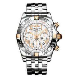 Breitling Men's IB011012/A692 Chronomat B01 Chronograph White Dial Watch
