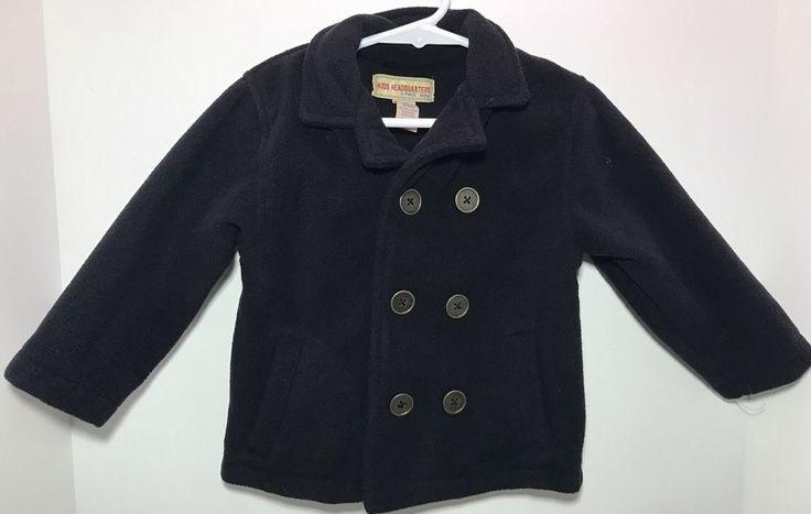 Kids Headquarters Baby Boy's Black Coat Jacket Size 18M EUC    eBay
