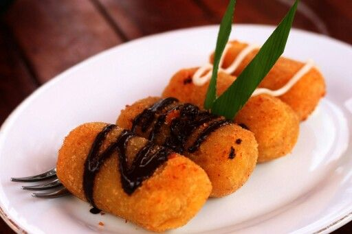 Fried cheese timus