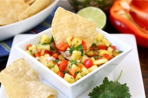 Pineapple Salsa; it will rock your world!: Salad, Dip, Food, Fresh Pineapple, Appetizers, Pineapple Salsa Recipes