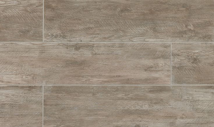 River Wood 8 Quot X 36 Quot Floor Amp Wall Tile In Taupe In 2019