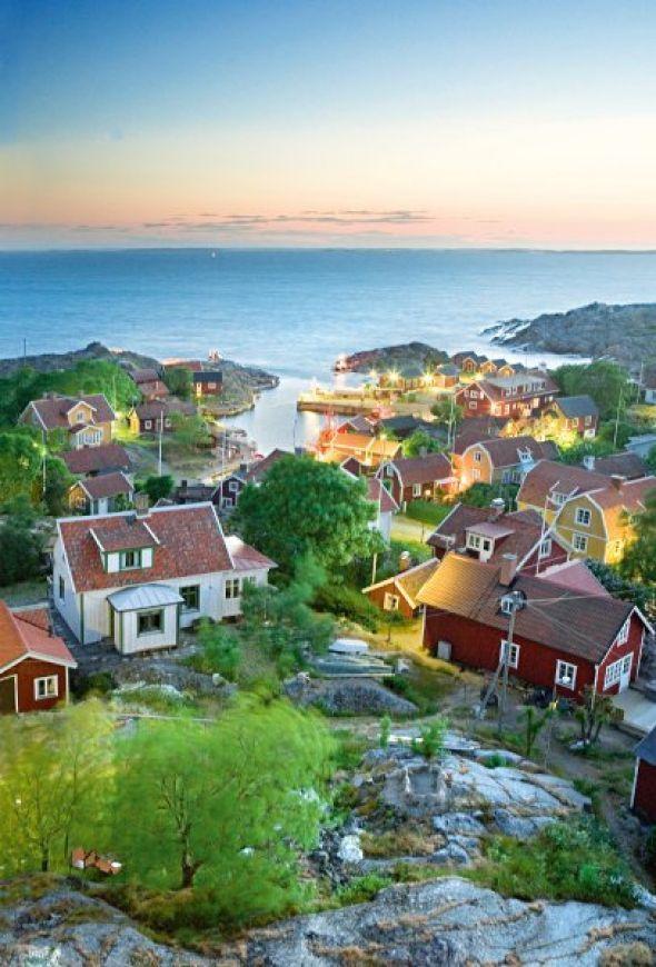 Landsort hat mehr Häuser als Einwohner: nur zwei Dutzend Menschen wohnen hier ständig. Doch im Hochsommer werden die Zimmer knapp.