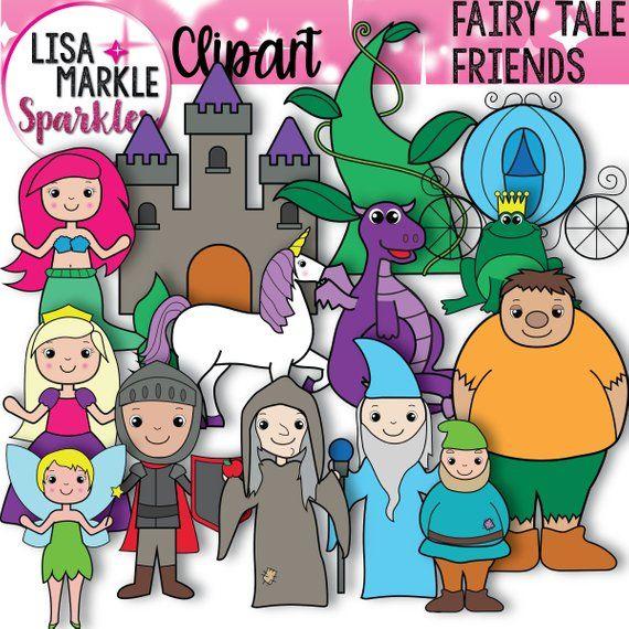 Fairy Tale Clipart Princess Clipart Story Clipart Medieval Etsy In 2021 Fairy Tales Princess Clipart Clip Art