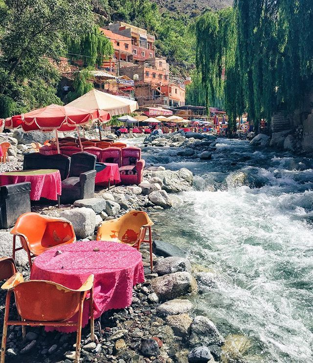 If you don't know much about the Berber people of Northern Africa - do your self a favour and look them up. They seriously know what's up. Lunch spots in the Atlas Mountains with the spunkiest little trekking guide this side of Marrakesh