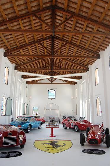Il Museo Enzo Ferrari di Modena - interno della Casa Natale.