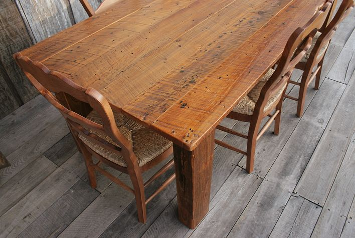 Handcrafted Cypress Rustic Tables All Wood Furniture