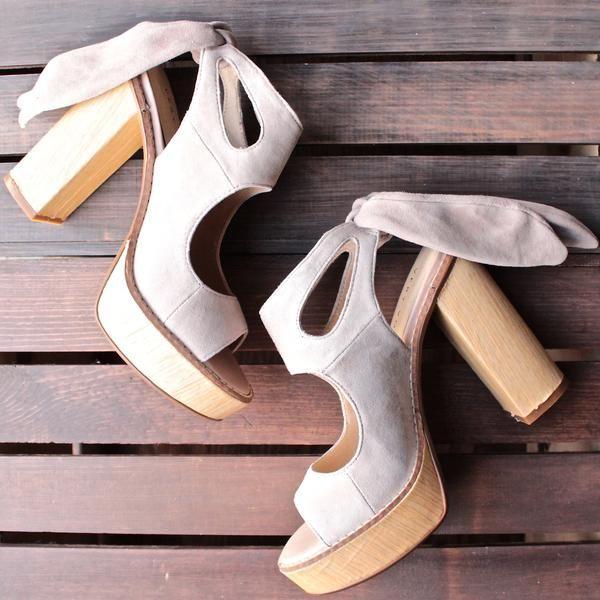 very volatile - rissa cutout ankle tie sandal (women) - shophearts - 2