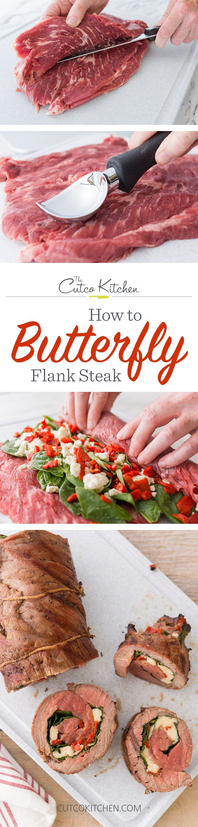 How to Butterfly Flank Steak for Stuffing I Use a Cutco Boning Knife to help you prep a recipe that's perfect for the July 4th holiday I Cutco Kitchen