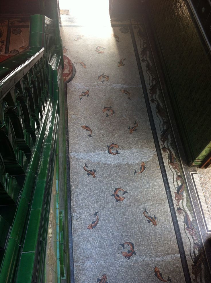Amazing tiled floor