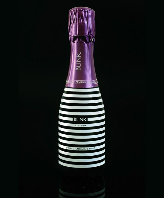 Blink Brut Sparkling Wine. Greek and produced from organic grapes. www.wineshop.gr for purchasing info