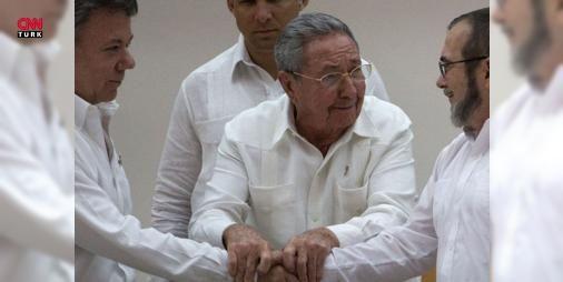Kolombiyada FARCla yeni barış anlaşması imzalandı : Kolombiya Devlet Başkanı Juan Manuel Santos hükümet ve Kolombiya Devrimci Silahlı Güçleri (FARC) arasında yeni bir barış anlaşmasının imzalandığını duyurdu.  http://www.haberdex.com/sanat/Kolombiya-da-FARC-la-yeni-baris-anlasmasi-imzalandi/79906?kaynak=feeds #Sanat   #Kolombiya #anlaşması #barış #Güçleri #Silahlı