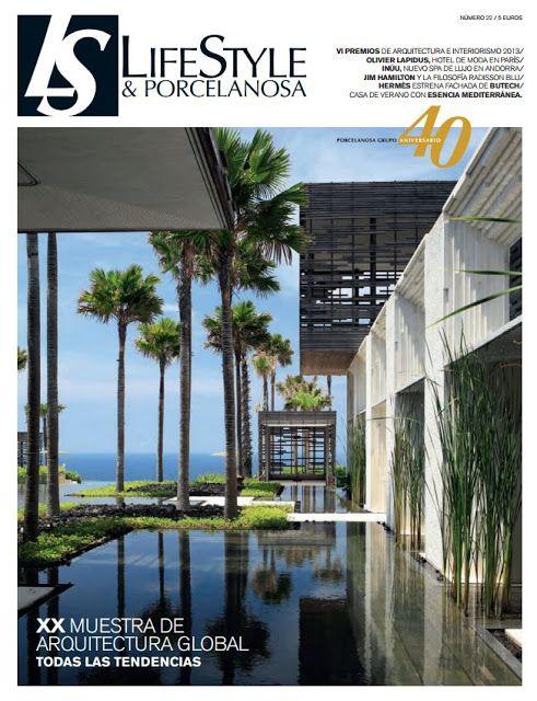 Nuevo número de la revista #LifeStyle de #Porcelanosa Grupo