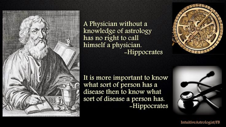 Image result for a physician cannot call himself a doctor astrology hippocrates