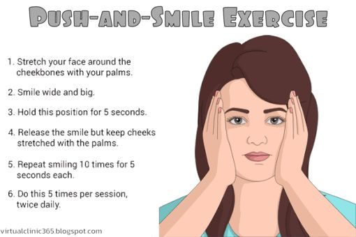 Push and Smile Exercise