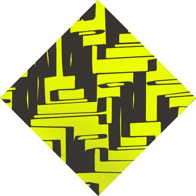 "Title : "" Escritura-estructura"". Acrilic on panel. 100 x 100  cm   Signed: Alfonso Cintado 2010. 1250 $"