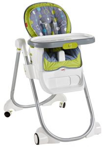 """Check the Fisher-Price with 4 in 1 Total Clean High Chair, a """"grow with baby"""" healthy and hygienic feeding high chairs booster seats with wheels that come with all friendly and comfy features. Click on https://bestkidsrideontoys.com for more detail."""