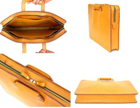 Leather briefcase  pattern in PDF