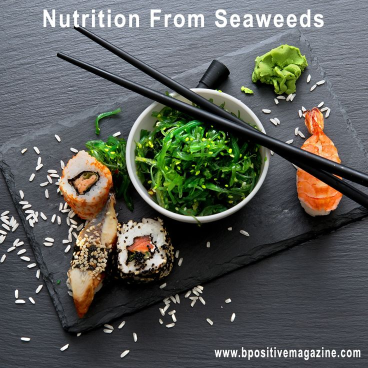 #Seaweeds grows in salt water - a food with enormous health benefits that has been a part of the traditional diet of the coastal communities of East Asia.