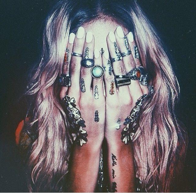 Soft Grunge. Rings. Gypsy. Matt French Instagram