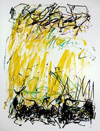 Joan Mitchell - Sides of A River  Art Experience NYC  www.artexperiencenyc.com