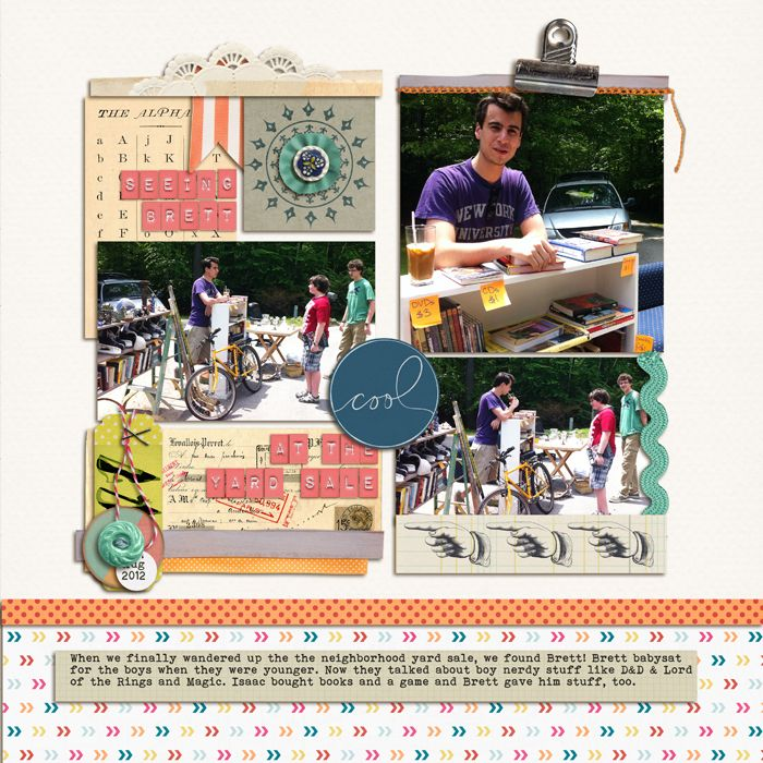 Mix Vintage Looks With Modern Punch on Your Scrapbook Pages | Debbie Hodge | | GetItScrapped.com/blog
