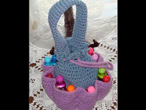 Crochet Craft Bag : Crochet Bingo Bag or Craft Bag I wanna Crochet that! Pinterest