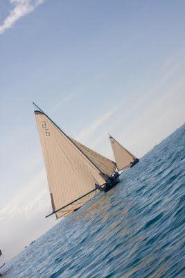 plodding in paradise: Bahamian regatta, Georgetown, Bahamas