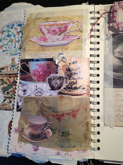 Rose Petals: Sketchbook - Textiles