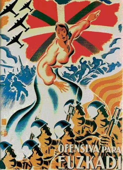 Ofensiva para Euzkadi. Guerra Civil española, 1936-1939