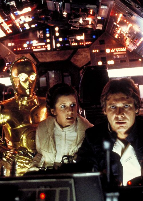 """""""Luminous beings are we, not this crude matter."""" The Empire Strikes Back (1980)"""
