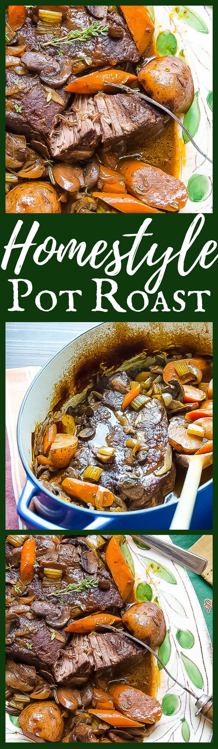 Homestyle Pot Roast | Garlic & Zest