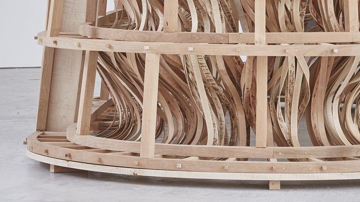 The Ivisible Store of Happiness | Sebastian Cox & Laura Ellen Bacon | Clerkenwell Design Week 2015 | American maple & cherry