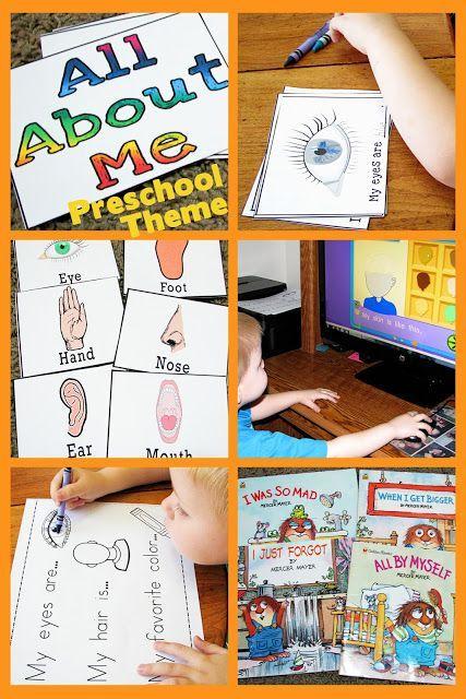 All About Me Preschool Theme (Mommy's Little Helper)
