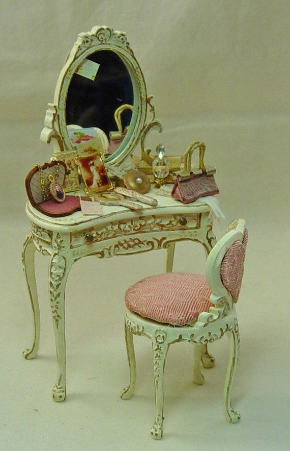 48 Best Images About Miniature Furniture On Pinterest